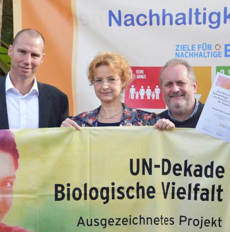 Zooschule Landau erhält erneut Auszeichnung als offizielles Projekt der UN-Dekade Biologische Vielfalt